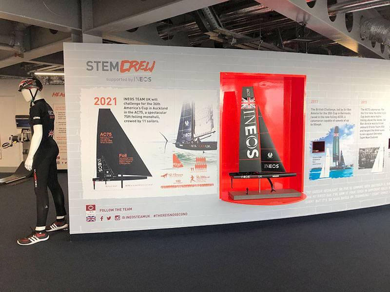 Education school visits to STEM CRew